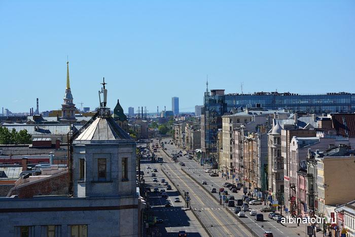 Россия Санкт-Петербург лофт проект этажи крыша 10
