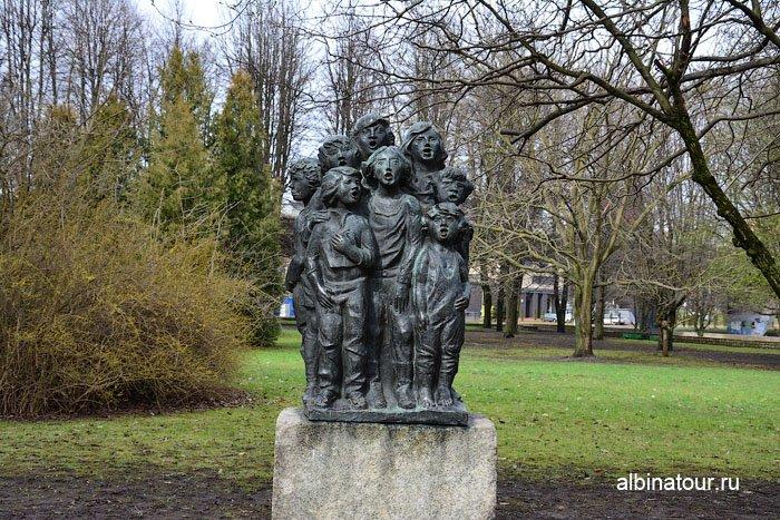 Россия Калининград музей парк скульптуры 4