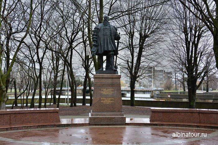 Россия Калининград памятник герцогу Альбрехту