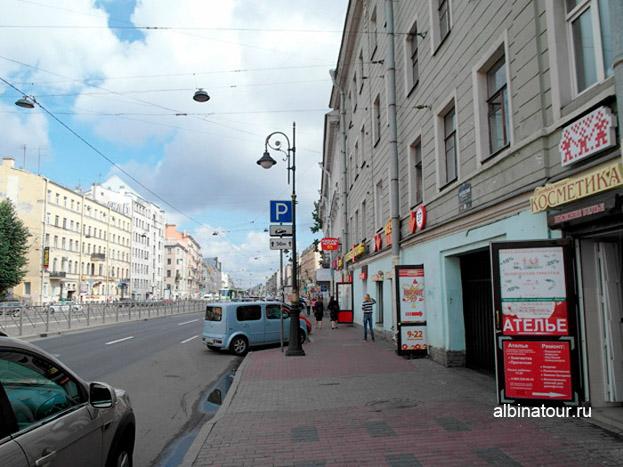 Петербург лофт проект этажи законная парковка 100 метров от входа