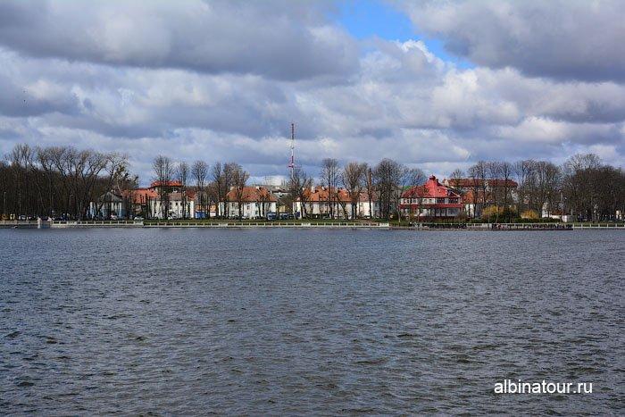 Россия Калининград вид озеро Верхнее 1