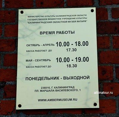 Россия Калининград музей янтаря 2