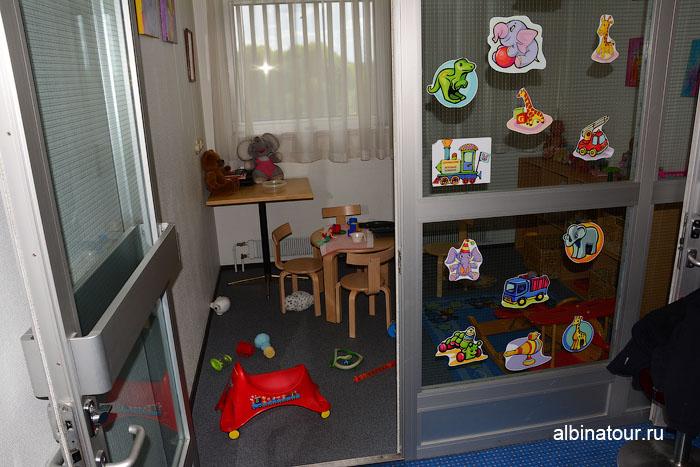Финляндия Иматра детская комната на втором этаж отеля Vuoksenhovi