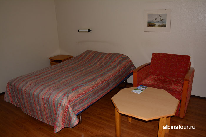 Финляндия Иматра номер на втором этаже отеля Vuoksenhovi 2
