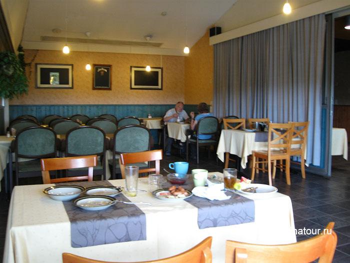 Финляндия Иматра ресторан на втором этаже отеля Vuoksenhovi