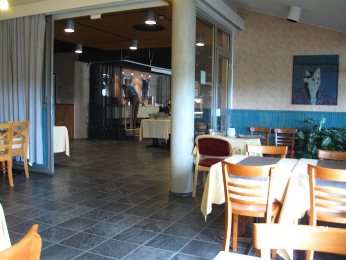 Финляндия Иматра ресторан на втором этаже отеля Vuoksenhovi 2