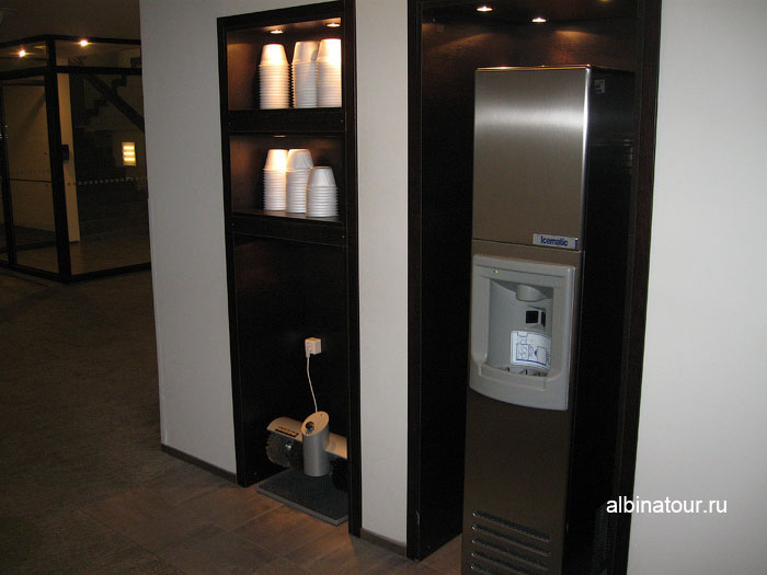 Финляндия Хельсинки отель Хилтон  коридор этажа 2