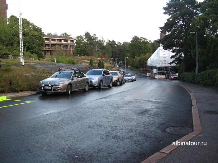 Финляндия Хельсинки отель Хилтон  парковка бесплатная 3