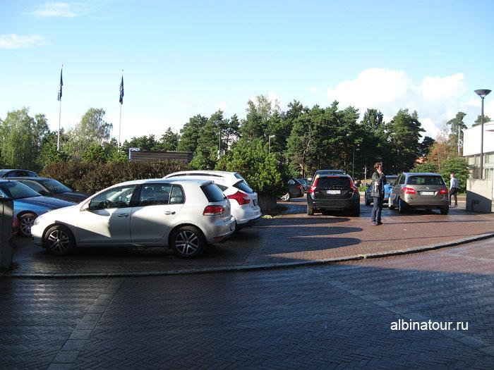 Финляндия Хельсинки отель Хилтон  парковка бесплатная