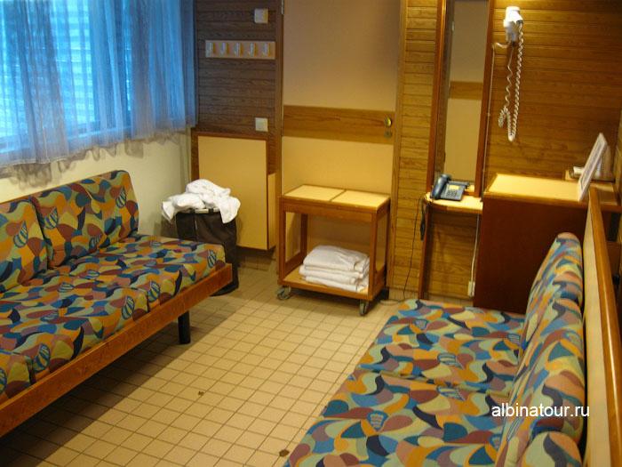 Финляндия Хельсинки отель Хилтон  сауна