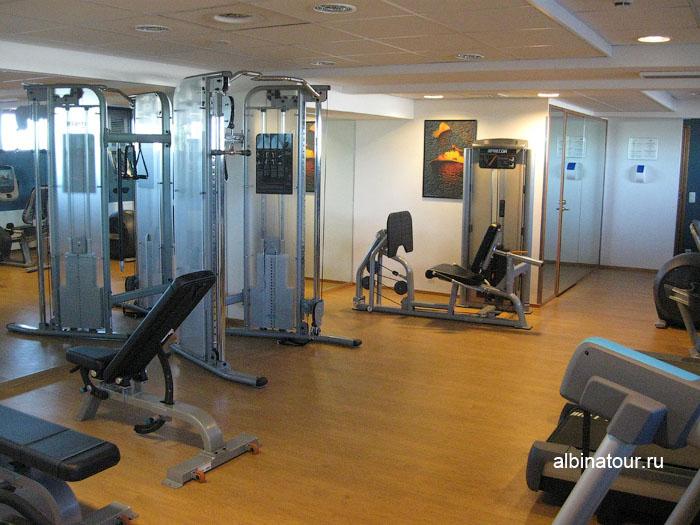 Финляндия Хельсинки отель Хилтон фитнес-зал 2