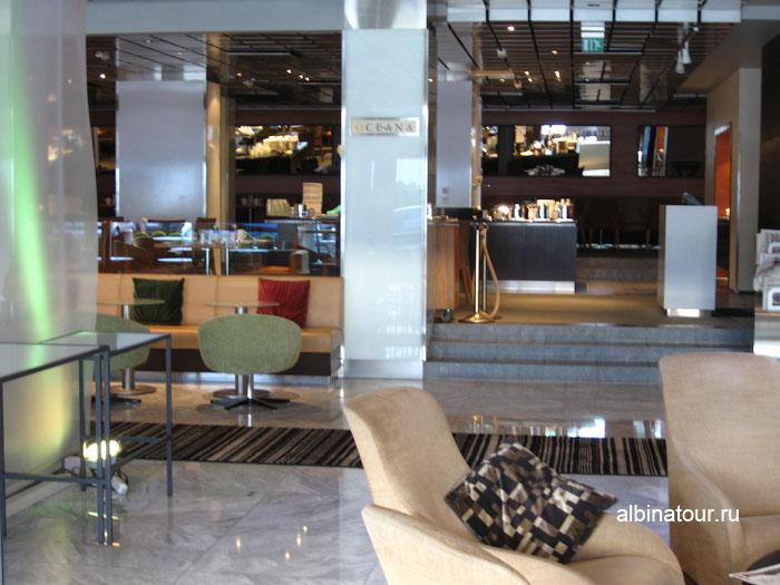 Финляндия Хельсинки отель Хилтон ресторан Oceana 2