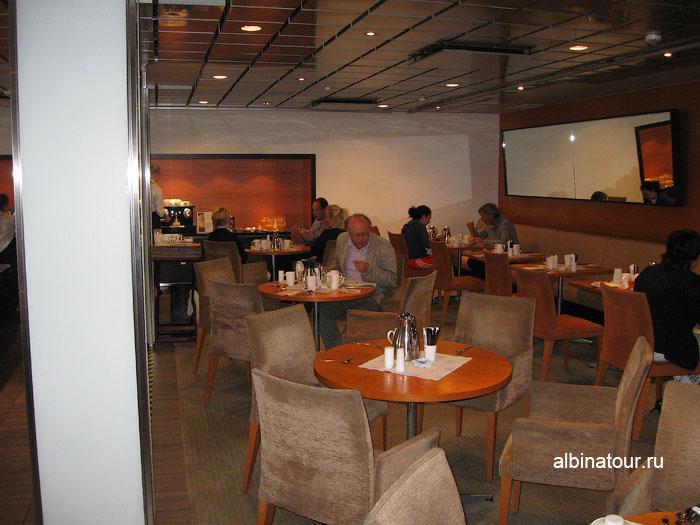 Финляндия Хельсинки отель Хилтон ресторан Oceana 4