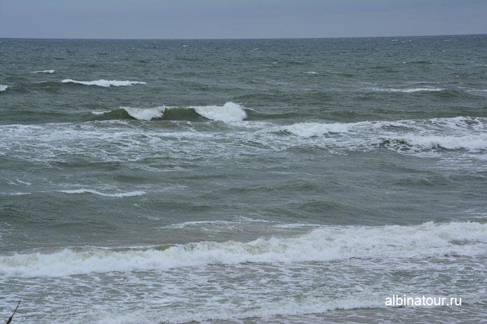 Россия Калининград Куршская коса Балтийское море в районе высота Эфа