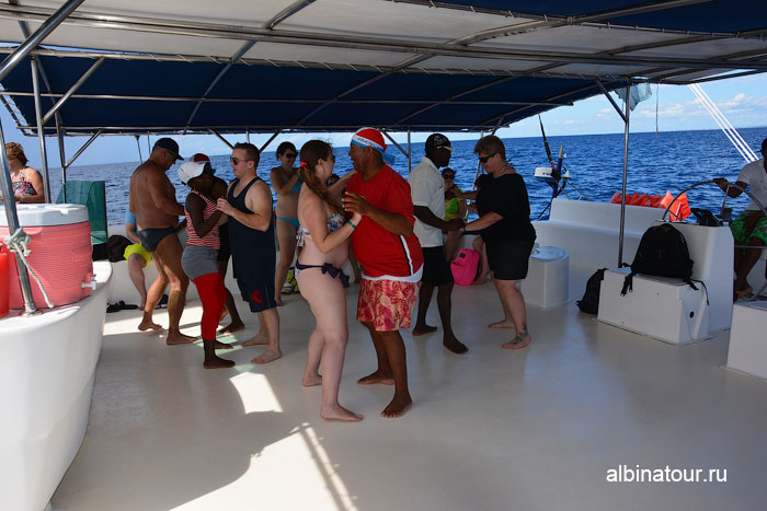 Доминикана путешествие на Саону катамаран 3