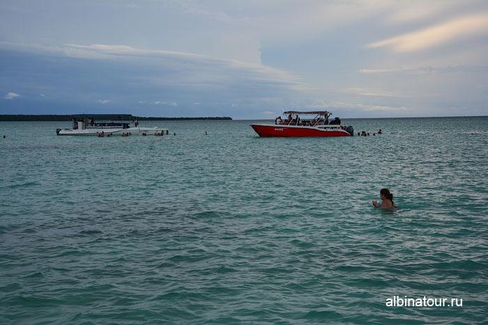 Доминикана Карибское море заповедник морских звёзд другие группы
