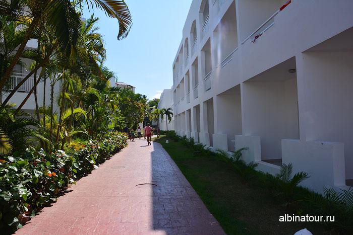 Доминикана отель be live Canoa вид на корпус 15 и 18