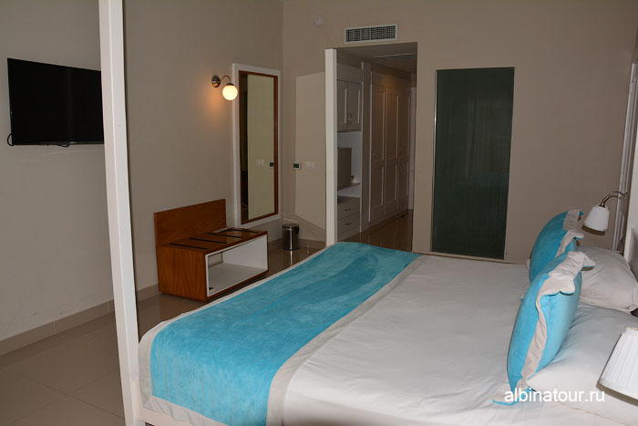 Доминикана отель be live Canoa номер вид на коридор