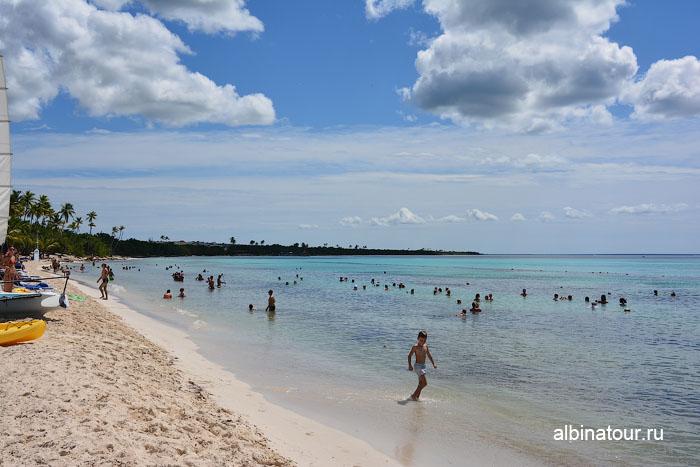 Доминикана отель Canoa пляж 10