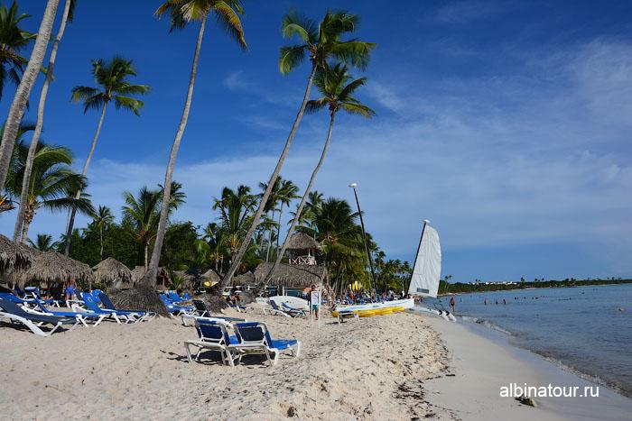 Доминикана отель Canoa пляж