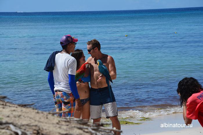 Доминикана отель Canoa пляж фотографы