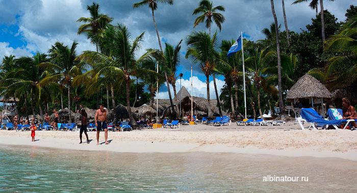 Доминикана отель Canoa пляж 6