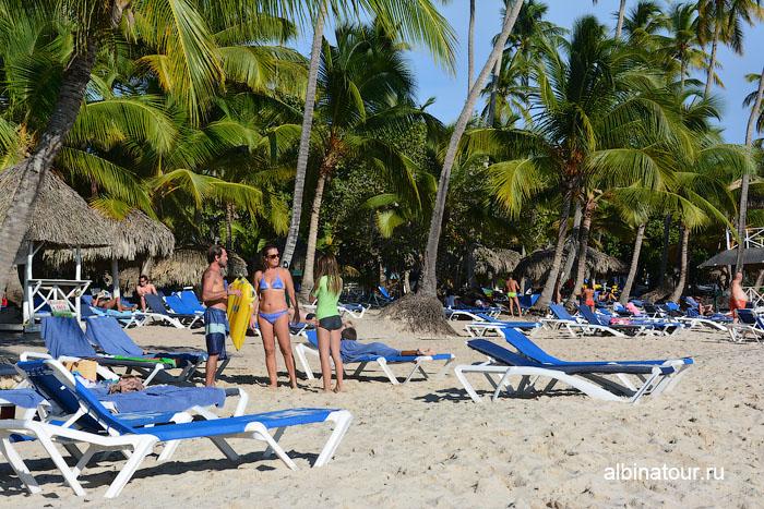 Доминикана отель Canoa пляж 7