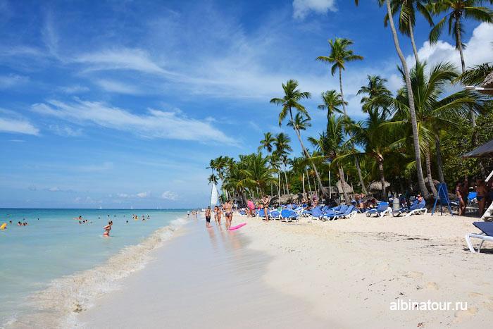 Доминикана отель Canoa пляж 9