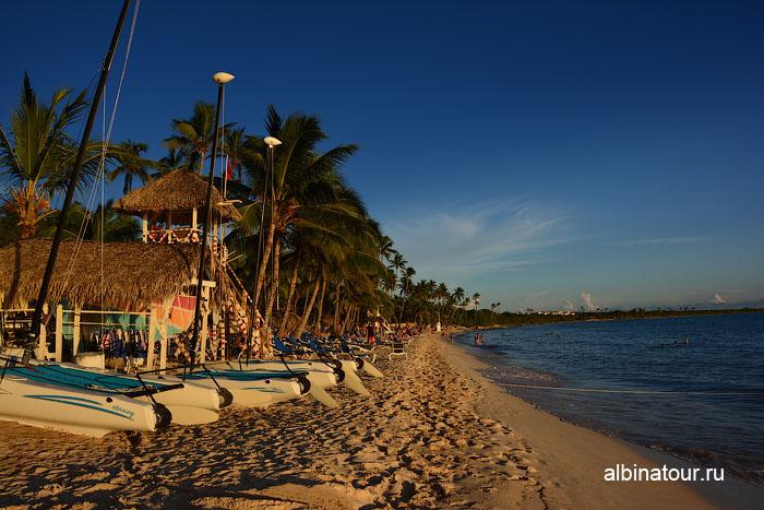 Доминикана отель Canoa пляж заход солнца 1