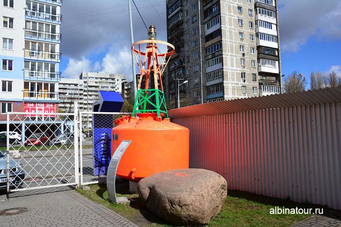 Калининград музей мирового океана буй навигационный