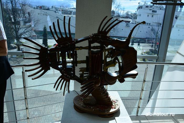 Калининград музей мирового океана главный корпус рыба