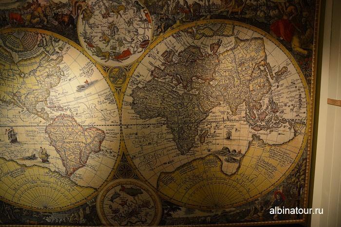 Калининград музей мирового океана судно Витязь карты