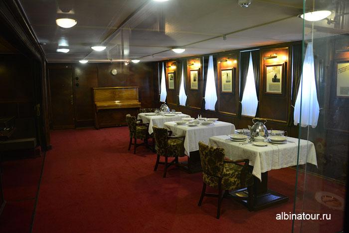 Калининград музей мирового океана судно Витязь быт экипажа
