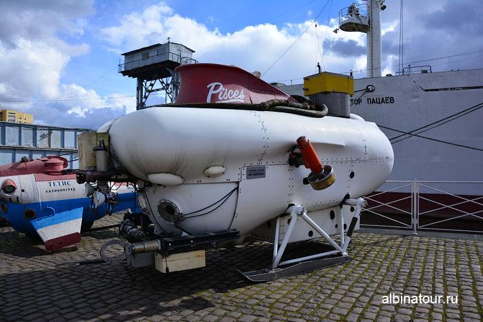 Калининград музей мирового океана аппараты для подводного плавания 3