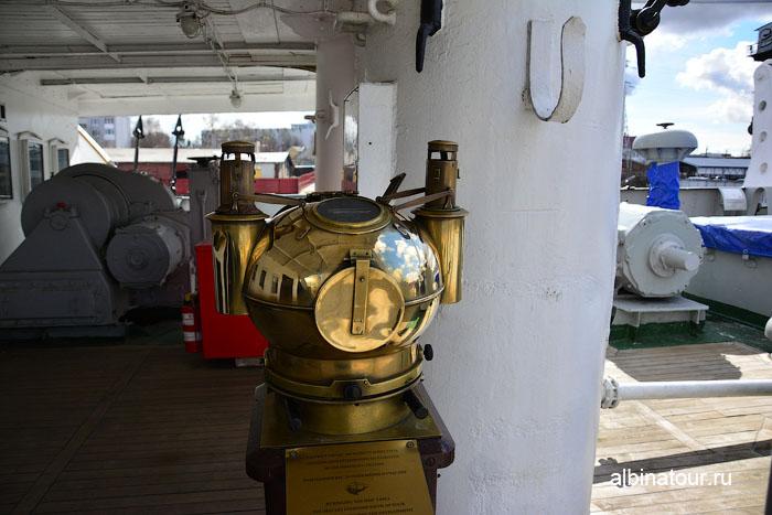 Калининград музей мирового океана судно Витязь рында