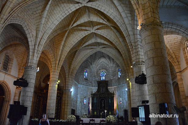 Доминикана Санто-Доминго Собор Санта-Мария алтарь
