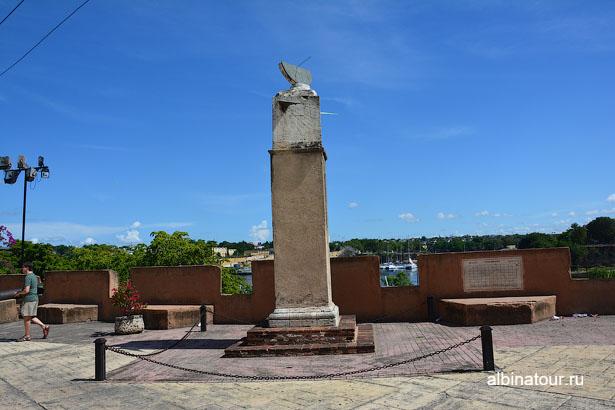 Доминикана Санто Доминго солнечные часы