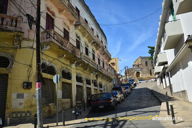 Доминикана улица колониальной части Санто-Доминго