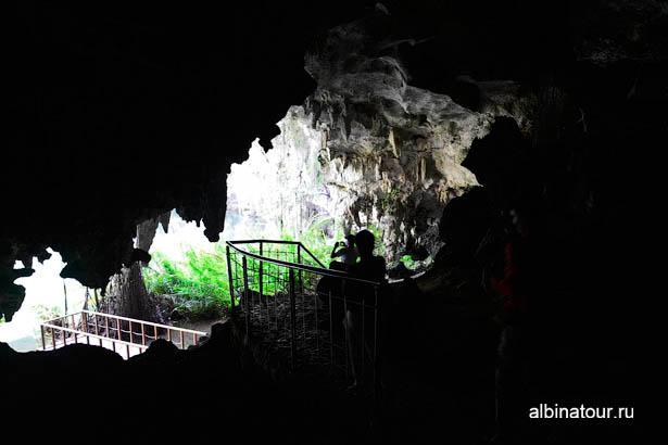 Санто Доминго пещеры три глаза третье озеро 3