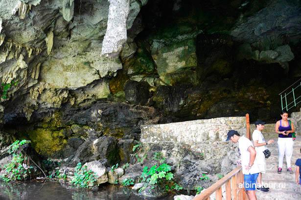 Санто Доминго пещеры три глаза третье озеро