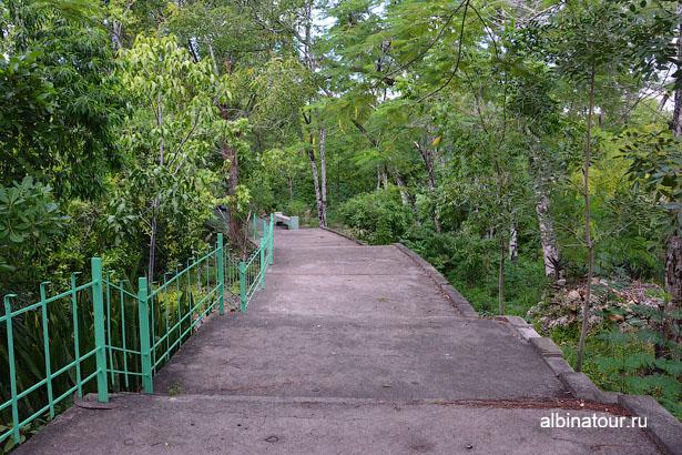 Доминикана Санто Доминго пещеры три глаза дорожки