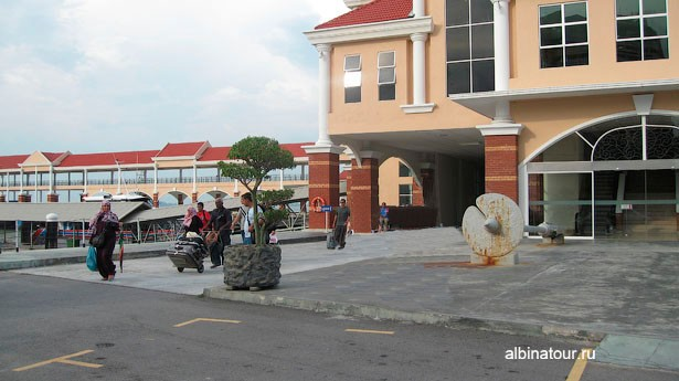 Penang George Town портовый вокзал