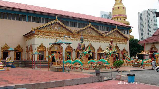 Пенанг храм Ват Чайя Мангаларам