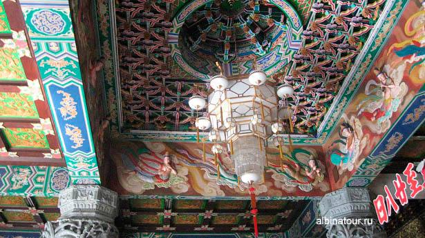 Пенанг Храм Высшего блаженства потолок