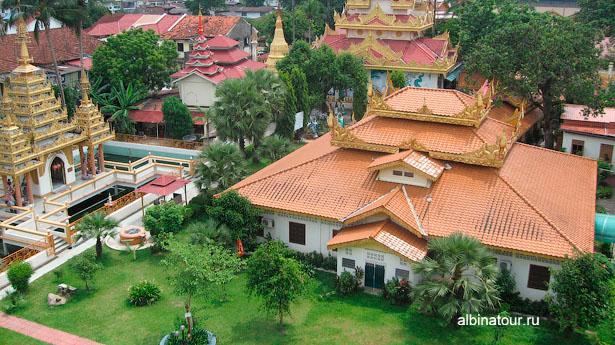 Пенанг Бирманский Храм общий вид