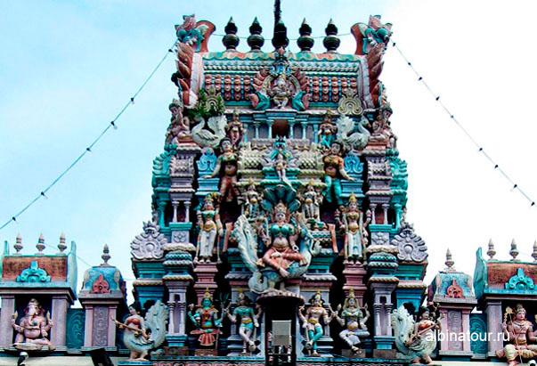 Пенанг Храм Шри Мариамман увеличиный размер