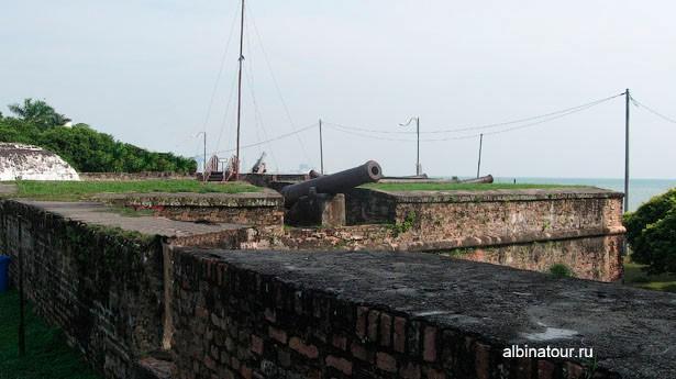 Пенанг Джорджтаун / George Town крепость