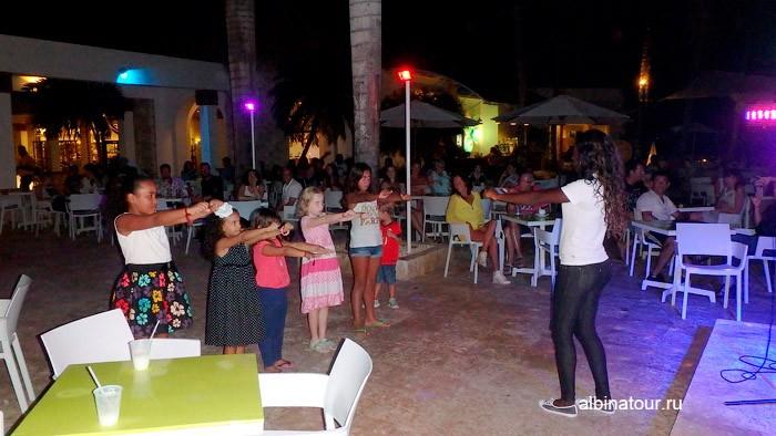 Детская дискотека в отеле