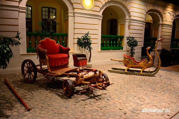 Сани и коляска Петра1 фото