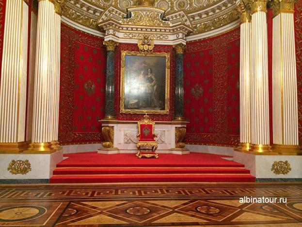 Малый тронный зал Эрмитаж в Петербурге фото